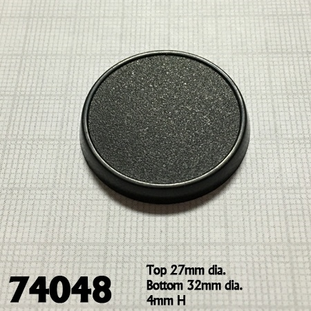 74048: 32mm Round Gaming Base