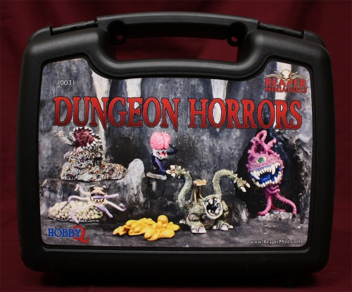 reaper miniatures dungeon horrors