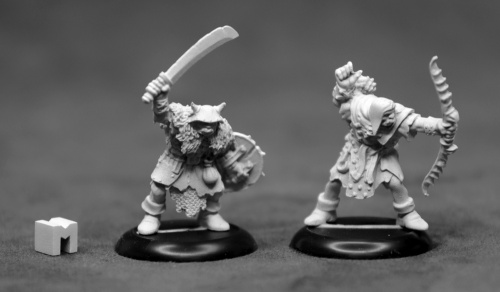 07013: Dungeon Dwellers: Orc Raiders (2) by Bobby Jackson. UK reaper stockist: www.mightylancergames.co.uk