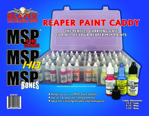 reaper miniatures paint caddy