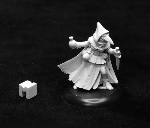 07017: Dungeon Dwellers: Sister Hazel, Plague Doctor by Bobby Jackson: 07017 www.mightylancergames.co.uk