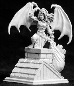 Reaper 01404 - 2002 Christmas Sophie by Sandra Garrity: www.mightylancergames.co.uk