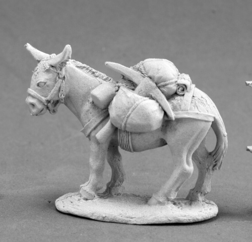 reaper miniatures  Pack Donkey 03671: