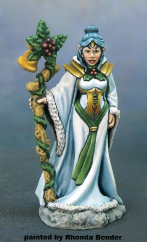 01621: 12 Days of Reaper - Winter Elf by Bob Ridolfi: www.mightylancergames.co.uk