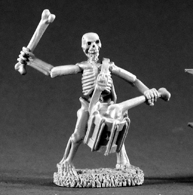 02211: Skeleton Drummer by Ed Pugh
