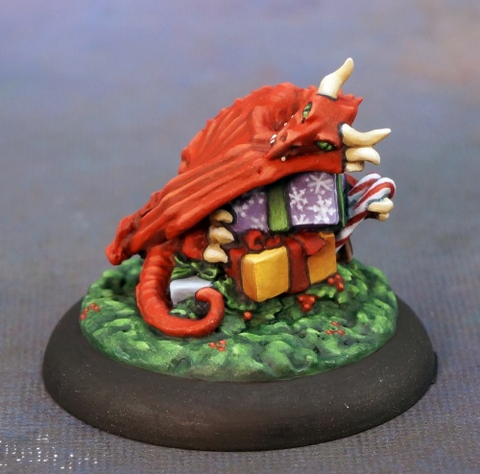 01581 12 Days of Reaper - Christmas Dragon Hoard by Julie Guthrie: www.mightylancergames.co.uk