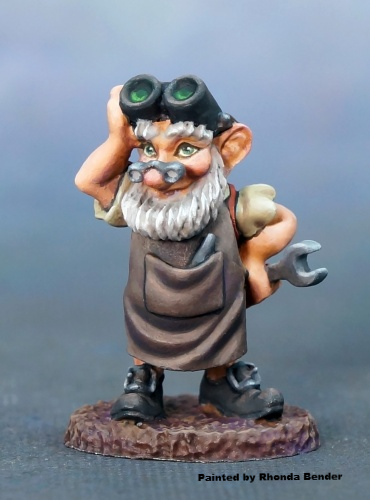 Reaper 01595 - 12 Days of Reaper - Tinker the Gnome by Bobby Jackson: www.mightylancergames.co.uk