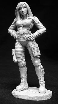 Reaper 01407 - Dana Murphy (72mm) by Werner Klocke: www.mightylancergames.co.uk