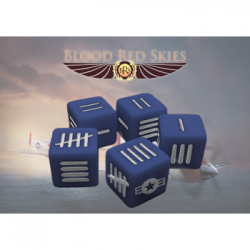 Blood Red Skies: United States Army Air force Dice set