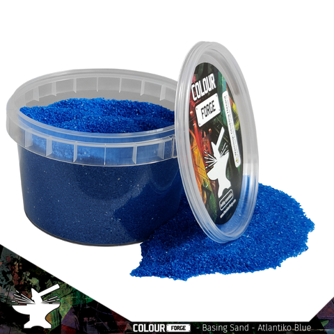 Basing Sand – Atlantiko Blue - Colour Forge -BAS201