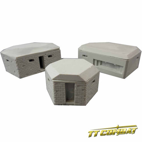 Pillboxes (15mm) (TT Combat) :www.mightylancergames.co.uk
