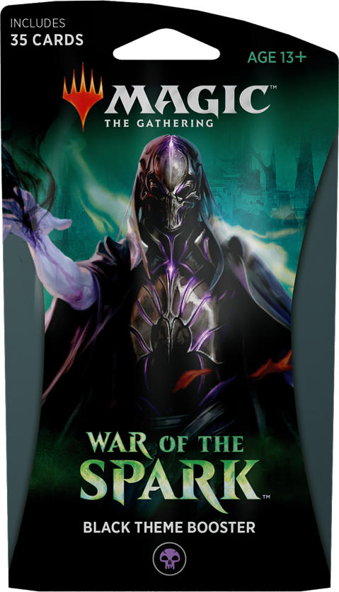 War of the Spark  - Black Themed Booster: www.mightylancergames.co.uk
