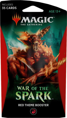 War of the Spark - Red Theme Booster: www.mightylancergames.co.uk