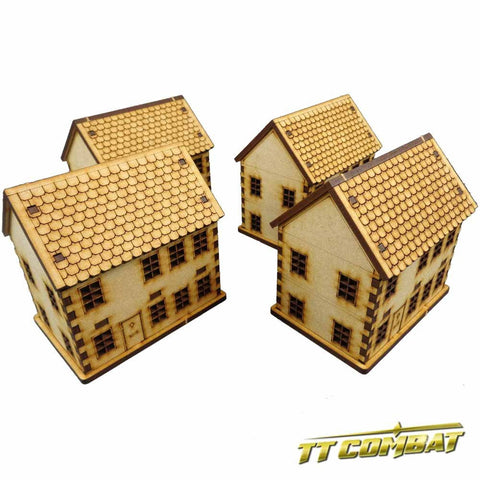 TT Combat: Townhouse Set (15mm)