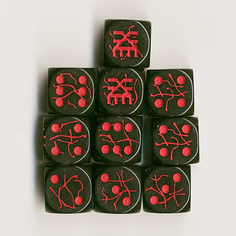 D6 - Khorne Black with Red cracked finish (10)