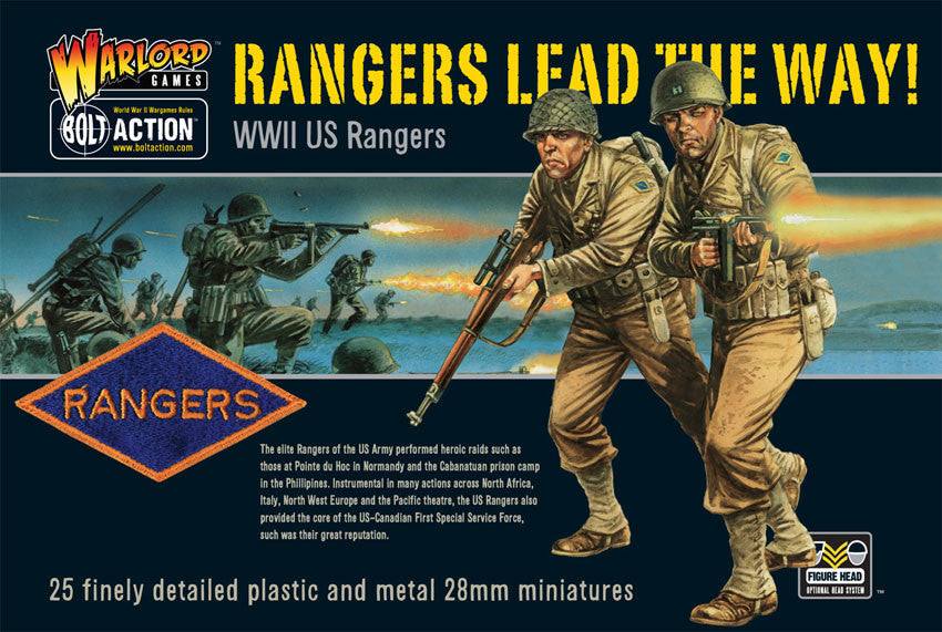 Bolt Action: US Rangers lead the way! boxed set