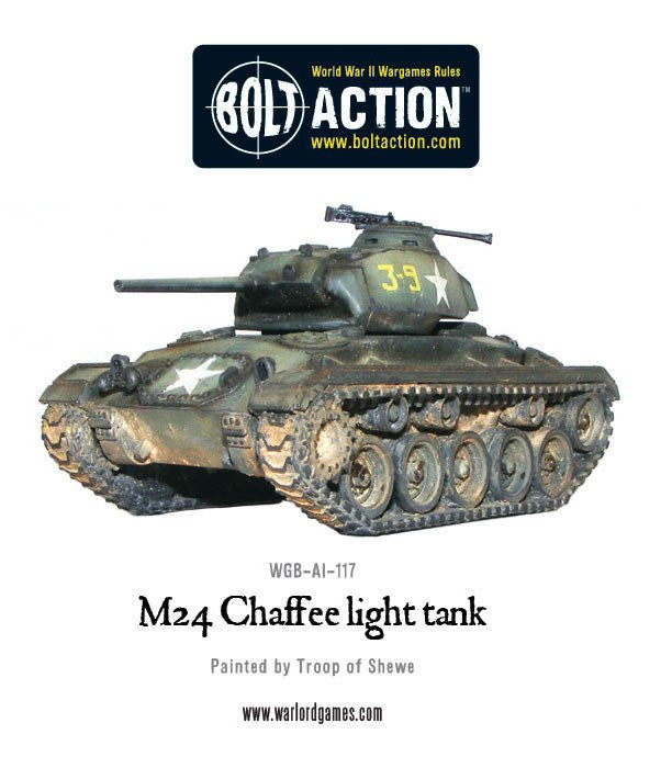 Bolt Action: US M24 CHAFFEE, LIGHT TANK