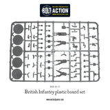 British Infantry - 25 Man Infantry Set (Bolt Action - 402011006)