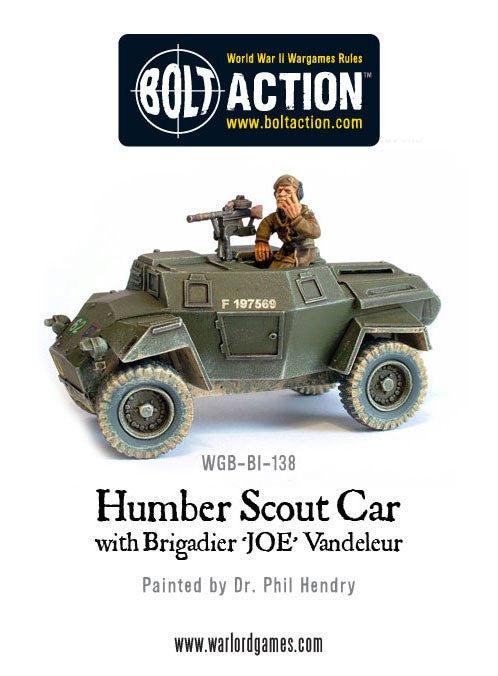 Humber Scout Car - Britain (Bolt Action)