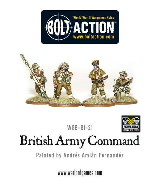 Bolt Action: British Army Command