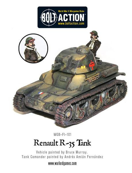 Bolt Action: French Army Renault R-35 Tank