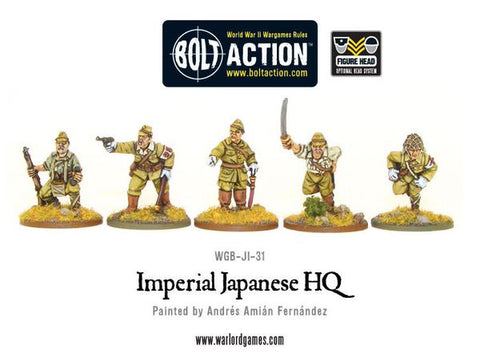 Bolt Action: Japanese - Imperial Japanese HQ