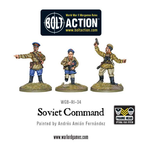 Bolt Action: Soviet Army Command