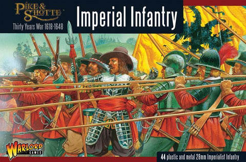 Imperial Infantry - Thirty Years War 1618-1648 (Pike & Shot) :www.mightylancergames.co.uk