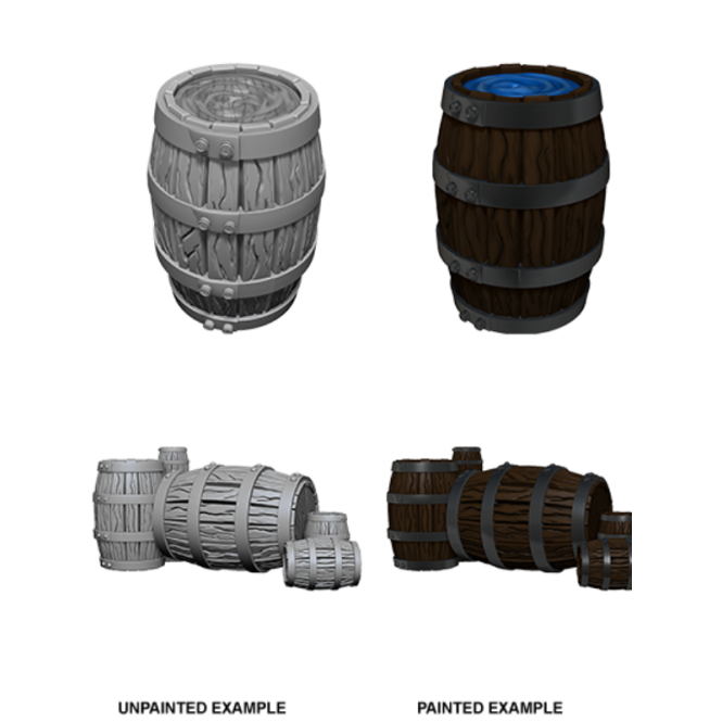 WizKids Wizkids Deep Cuts Miniatures (Wave 5) - Barrel & Pile of Barrels 73361: www.mightylancergames.co.uk