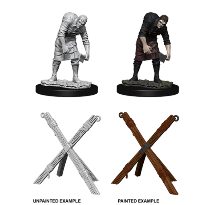 WizKids Wizkids Deep Cuts Miniatures  - Assistant & Torture Cross 73424: www.mightylancergames.co.uk
