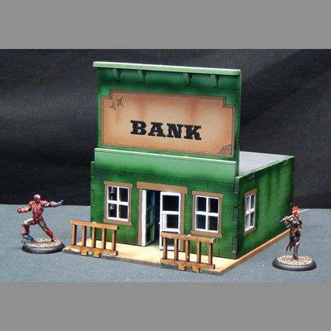 Bank - Tabletop Scenics: www.mightylancergames.co.uk