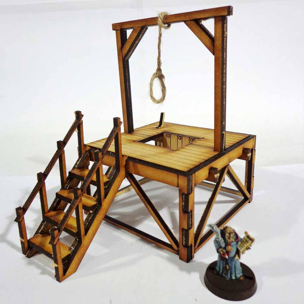 Gallows - Table Top Scenics: www,mightylancergames.co.uk