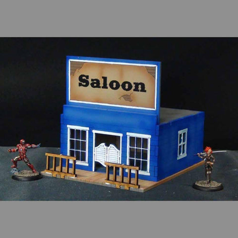 Saloon Table Top Scenics: www.mightylancergames.co.uk