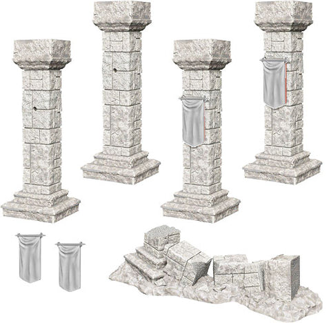 Pillars & Banners - 90046 (Wizkids UPM) :www.mightylancergames.co.uk