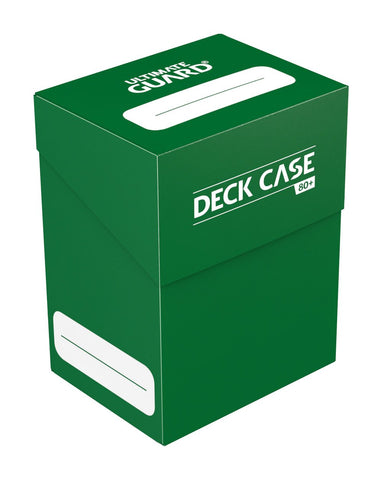 Ultimate Guard Deck Case 80+ Standard Size Green