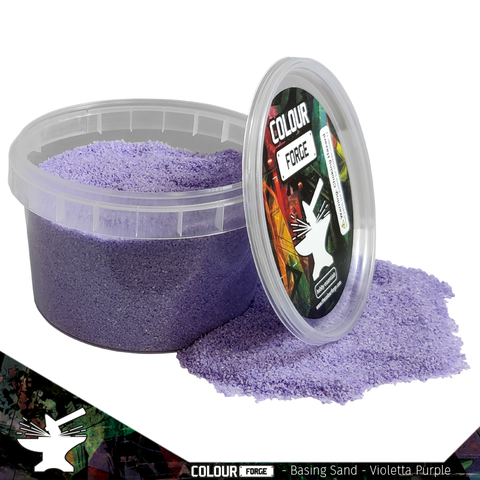 Basing Sand –Violetta Purple - Colour Forge -BAS208