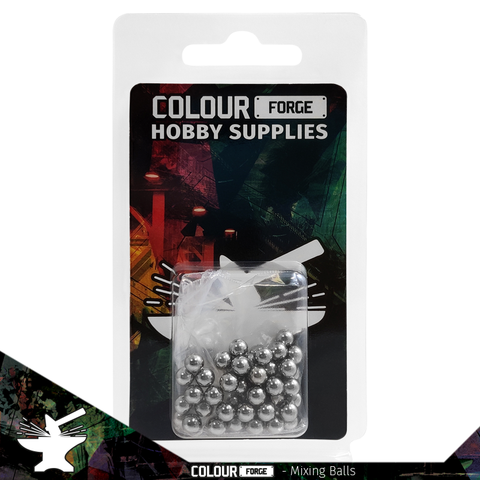 Colour Forge Mixing Balls - Colour Forge - BAS016
