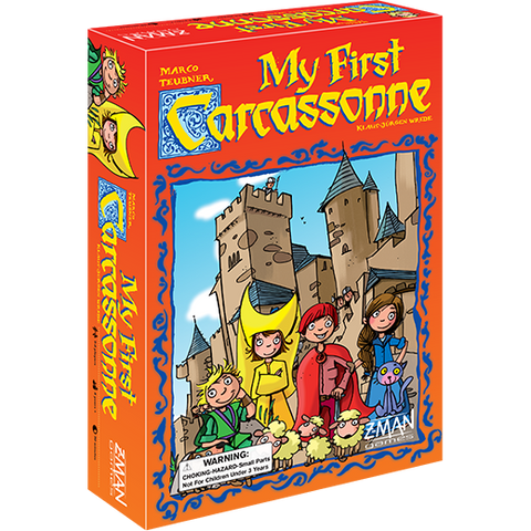 Carcassonne - My First Carcassonne: www.mightylancergames.co.uk