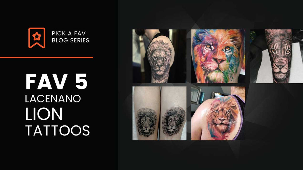 FAV5 - Lion Tattoos mit professionellen LACEnano Tattoo Geräten