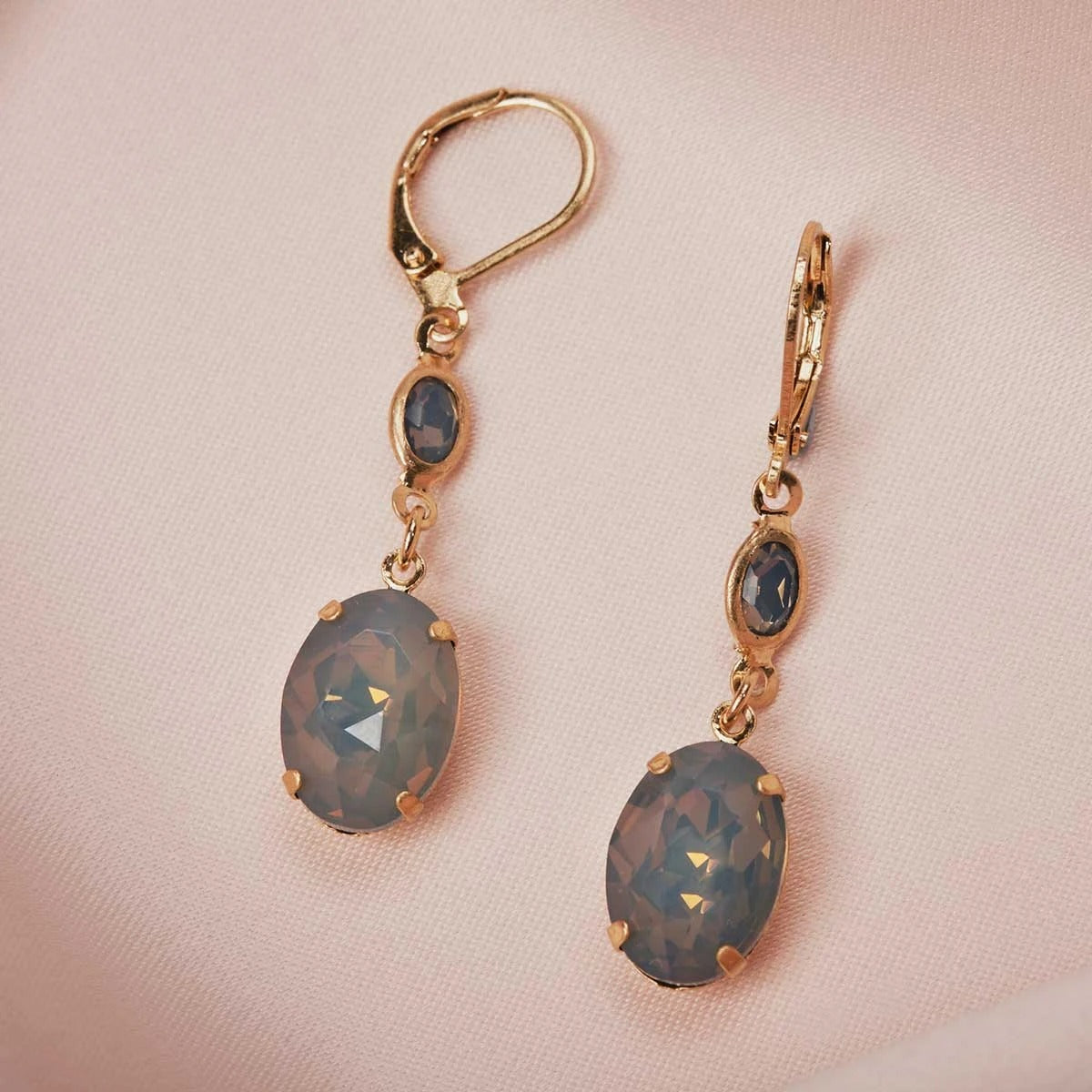 Lovett Earrings - Short Bar Drop - Various Colours
