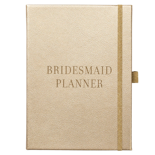 Bride to B - Classic Bridesmaid Planner Gold