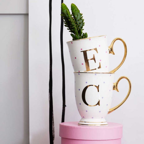 Bombay Duck Mug - Alphabet Spotty Mug