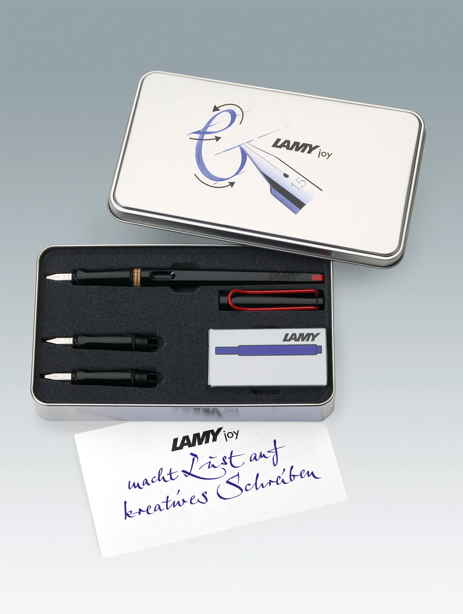 Lamy Joy Calligraphy Set Black