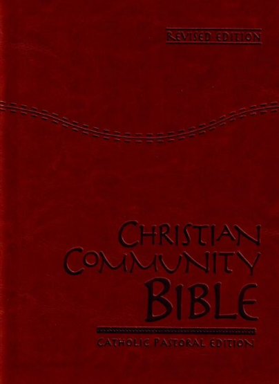 Catholic Christian Community Bible - Brown Gold