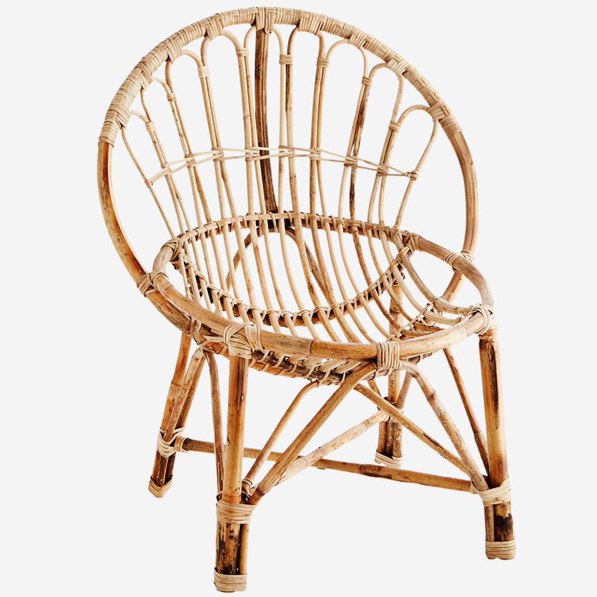 Madam Stoltz Chair - Bamboo Round
