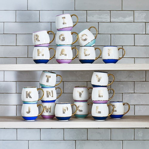 Bombay Duck Library Monogram Mugs
