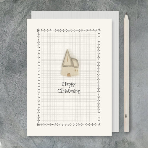 East of India Card - Christening