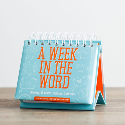 Dayspring Perpetual Calender - A Week In The Word