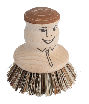 Redecker Brush - Pot Brush - Beechwood