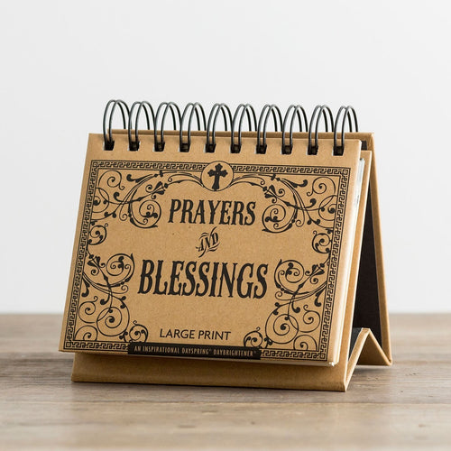 Dayspring Perpetual Calender - Prayers & Blessings (Large Print)